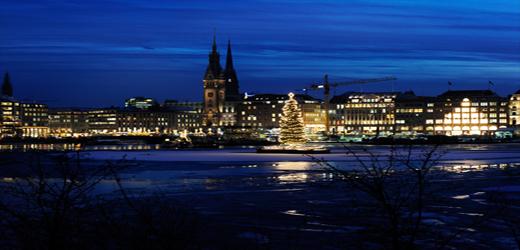 Erleben Sie Hamburg im Winter...