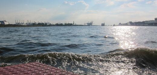 Der Hamburger Hafen - eine Hamburgs schönster Seiten