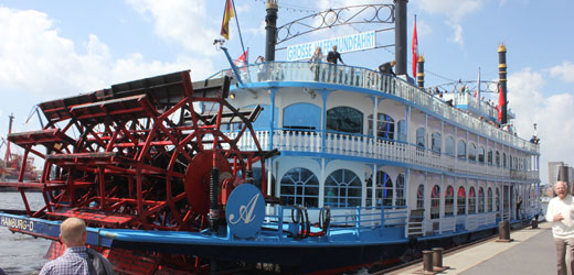 A real experience - ride on our paddle steamer